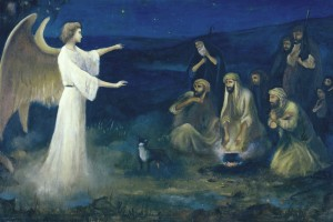 http://www.onefaithonechurch.com/wp-content/uploads/2012/12/Angel-Announcing-the-Birth-of-Christ-to-Shepherds-Robert-Leinweber-300x200.jpg