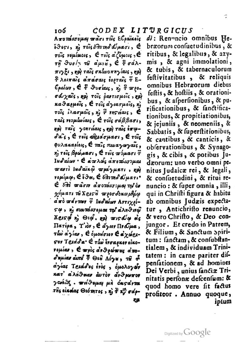 Codex Liturgicus 2