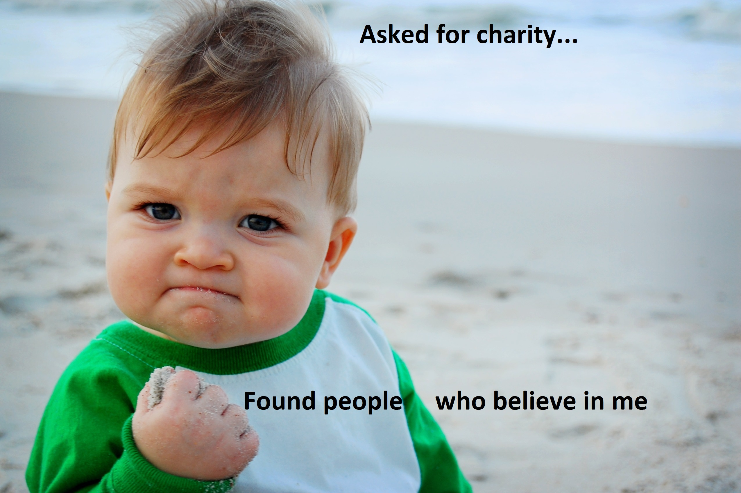 Funny Meme Yay : It is more blessed to give than to receiveu2026 so give someone else a